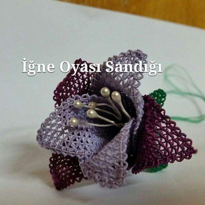 Turkish needle lace oya   yeni çiçeğim