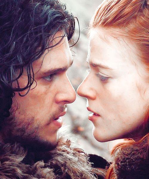 Jon Snow Ygritte ~ Game of Thrones