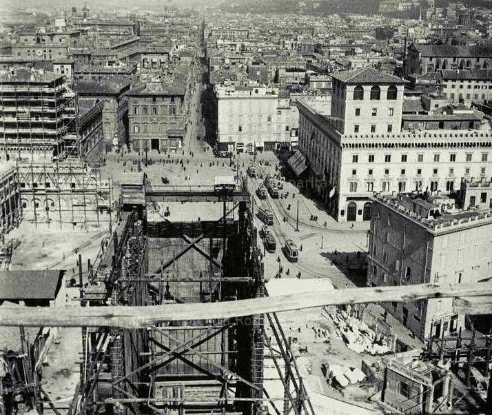 ROMA Sparita - Piazzavenezia 1910