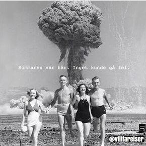 #frisyr #hår #le #leende #villfarelser #humor #ironi #ironiskt #text #foto #fotografi #skoj #skratt #kul #roligt #fånigt #baddräkt #badbyxa #bomb #svamp #strand #bad #sol #sommar