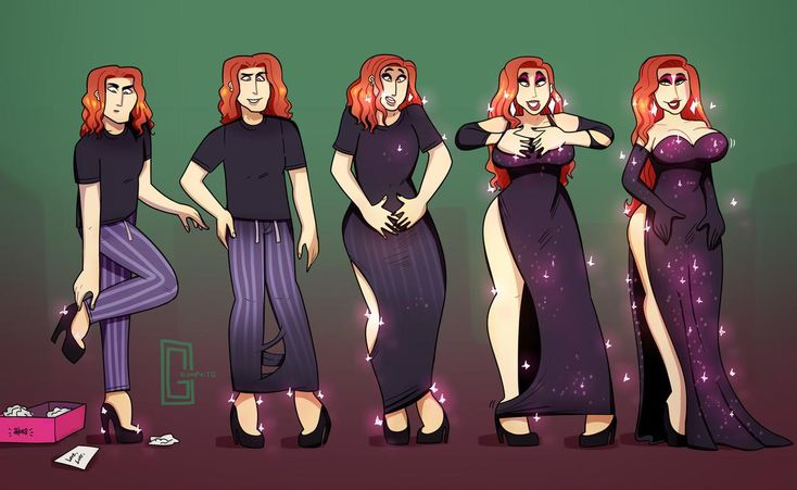 Pants Are No Fun - TG Transformation by Grumpy-TG on