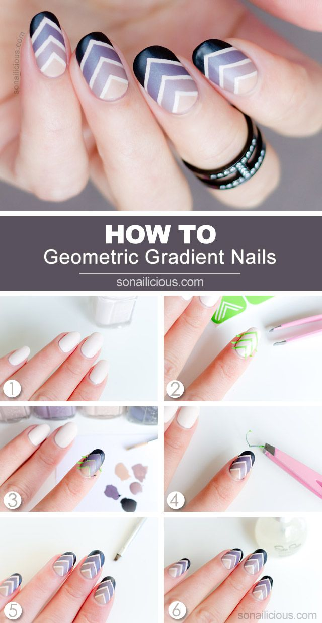 76 best Nail art tutorials images on Pinterest | Nail design, Cute ...