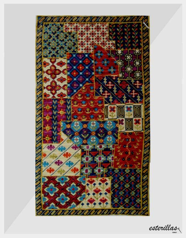 DESCRIPCIÓN: Bordado entretenido en lindos colores [border ]  TIPO ESTERILLA: GRUESA [border ]  ...