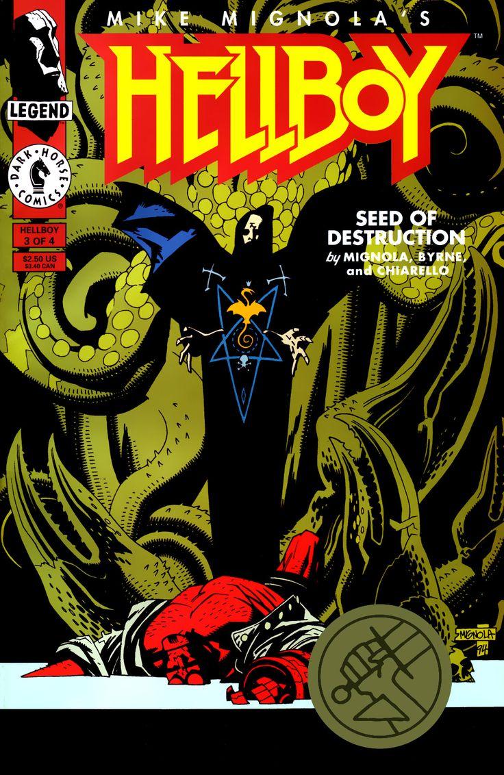 Hellboy: Seed of Destruction Issue #3 - Read Hellboy: Seed of Destruction Issue #3 comic online in high quality