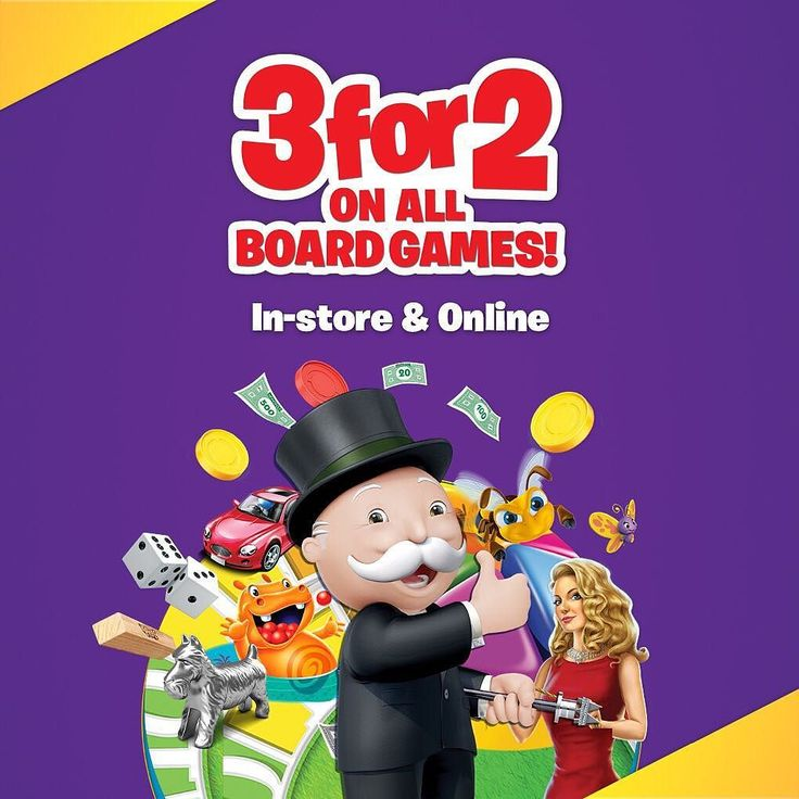 Everybody loves a good board game and right now at Smyths Toys weve got tons at 3 for 2