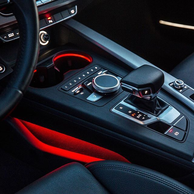 Run the gamut of moods with 32 choices of interior lighting colors. #AudiA4