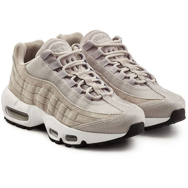best website cab14 d4ca0 Nike Air Max 95 Premium Leather Sneakers ( 215) ❤ liked on Polyvore  featuring shoes