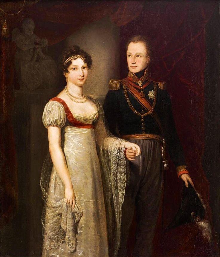 Willem of Orange and Anna Pavlovna, Jan Willem Pieneman