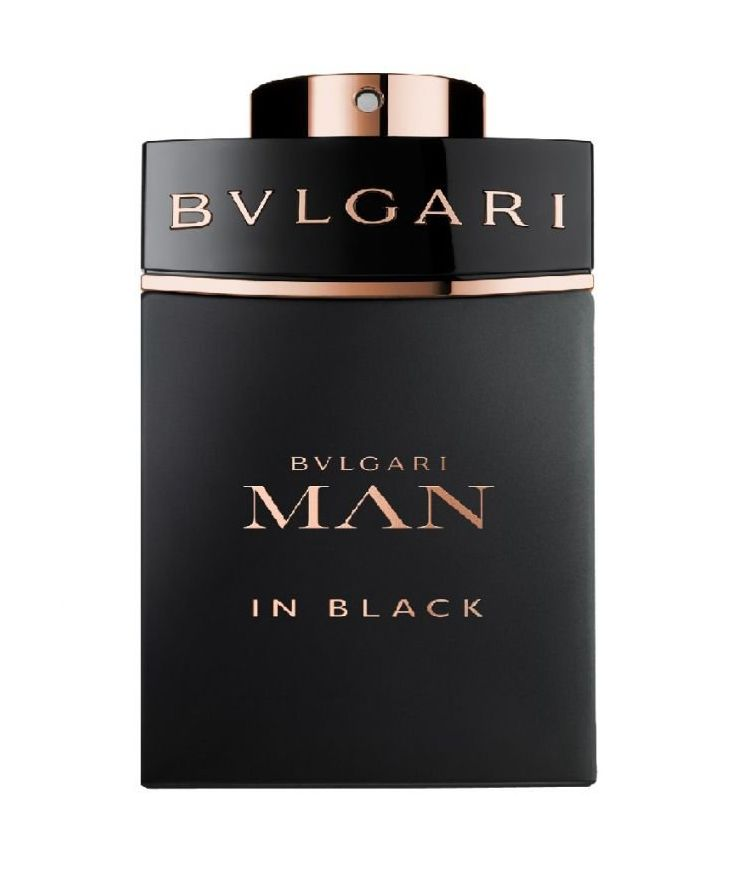 Man In Black Perfume by Bvlgari launched in 2014. The fragrance is announced as daringly charismatic fragrance, expressing a statement of masculinity, inspired by the myth of the birth of Vulcan, the god of the earth, composition of the perfume amber, wood, spices and leather.  http://www.zocko.com/z/JJZue