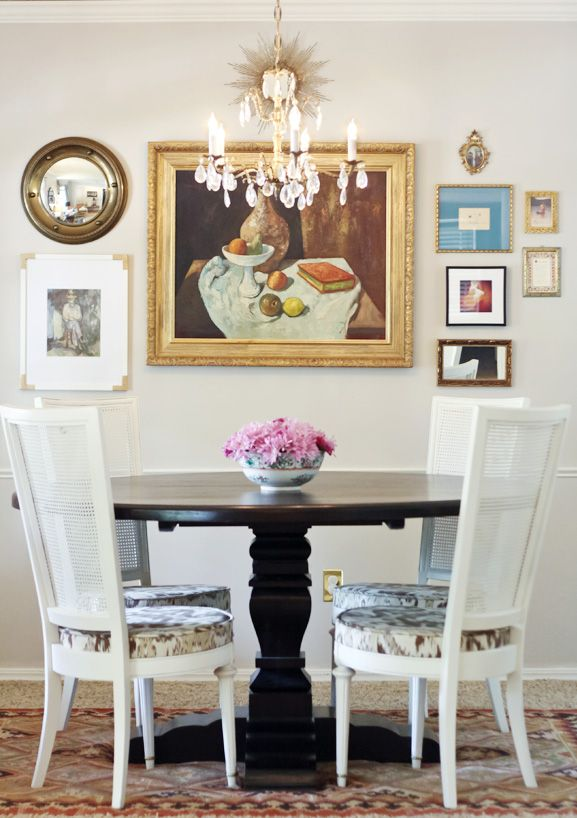 Best Painted Dining Chairs Images On Pinterest Dining Rooms - Wall stickers for dining roomawesome dining room wall decals home design lover