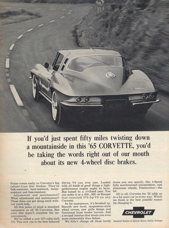 1210 best old ads cars trucks bikes images on pinterest poster chevrolet corvette fandeluxe Images