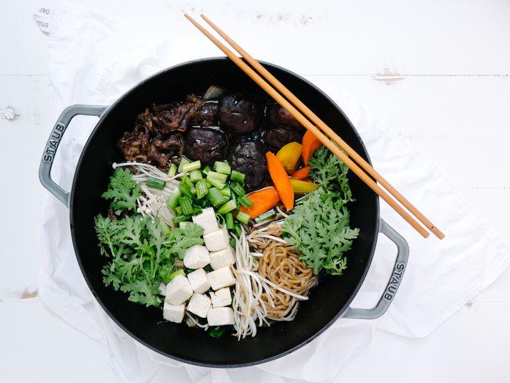 Beef Sukiyaki — Fix Feast Flair