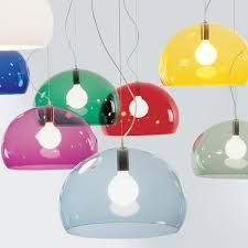 Kartell FLY light avaliable in all colours at www.rasmusdesign.co.uk