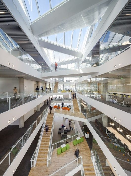 New Education Centre of VUC Syd in Haderslev, Denmark by AART Architects + ZENI Architects