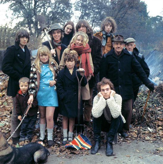 Fairport Convention 1968 by Richard Bennet-Zeff