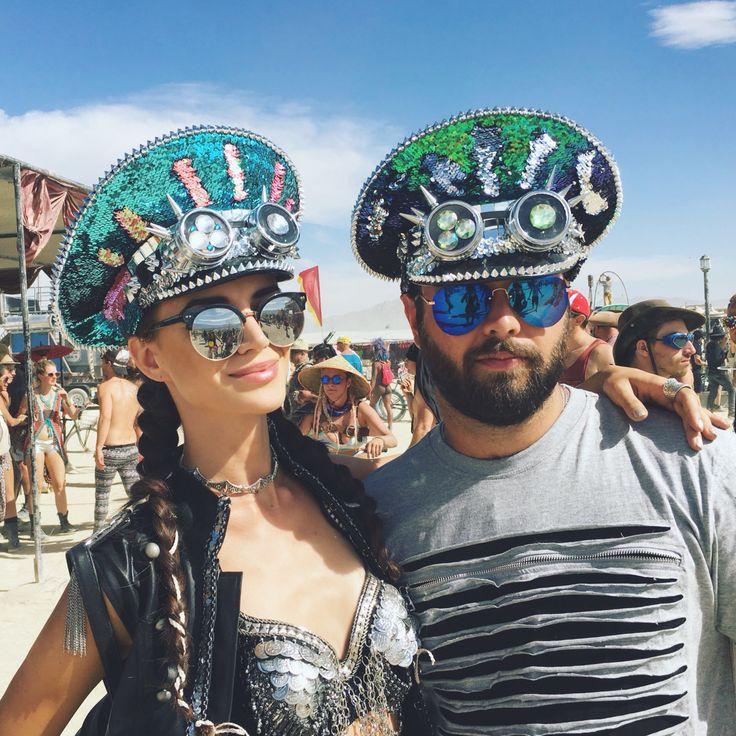 Burninghats @ Burning Man  Unique handmade hats for burning man and festivals.