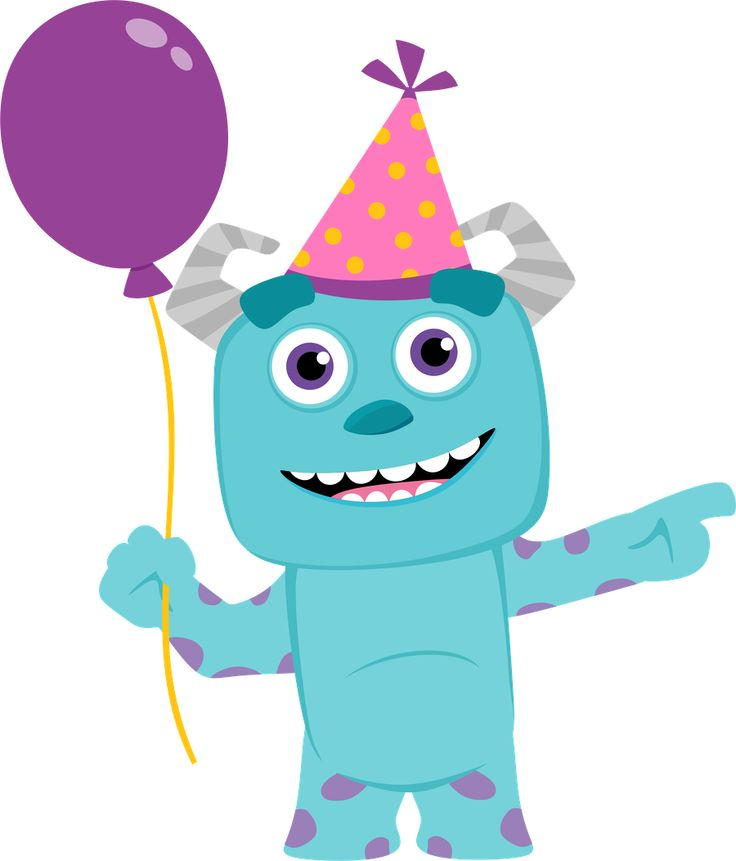 68 best clip art monsters inc images on pinterest monster party minus say hello filmwisefo