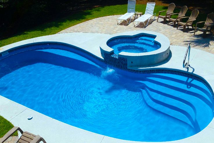 25 best ideas about fiberglass pools for sale on - Fiberglass swimming pool shells for sale ...