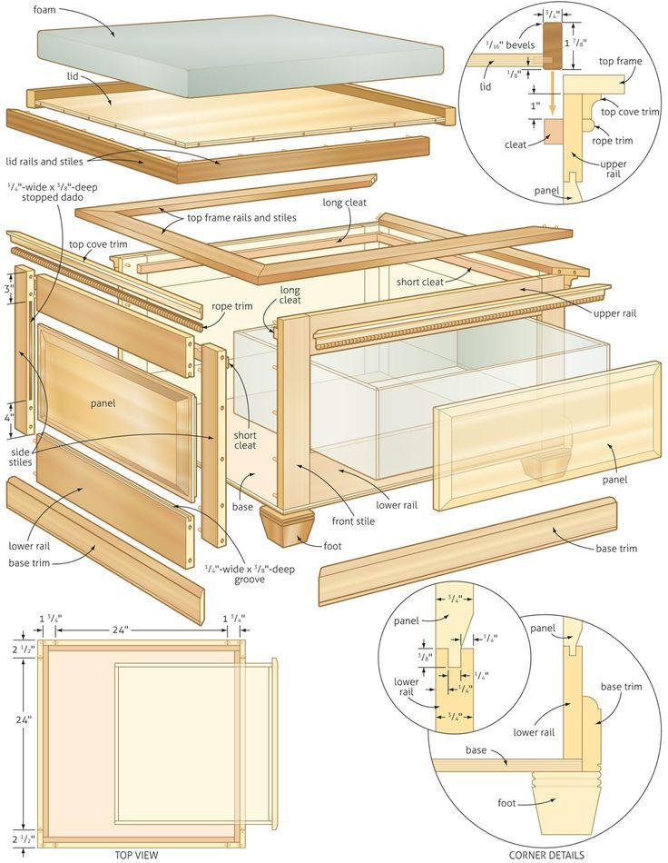 Coffee table with storage plans pinterest for Table 6 of gstr 1