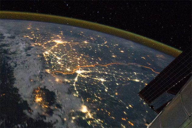 10 surprising things you can see from space in recent - Things you find on walls ...
