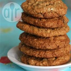 Galletas de avena con pasas y nuez @ allrecipes.com.mx