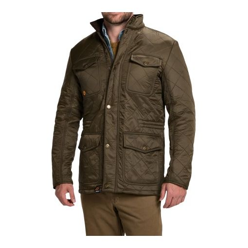 Barbour of England Barbour Kendle Quilted Jacket - Fleece Lined (For Men) - on #sale 54% off @ #SierraTradingPost  #BarbourOfEngland