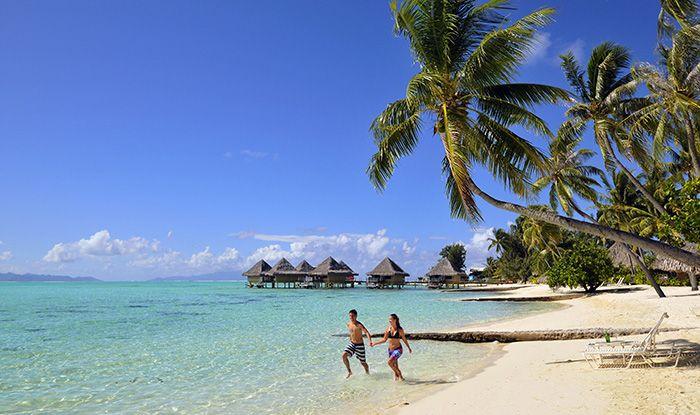 8 Day Luxury Tahiti Honeymoon Package includes 7 nights hotel, breakfast, tours, transfers, honeymoon bonus and more.  visit: qantasvacations.com  #tahitihoneymoon