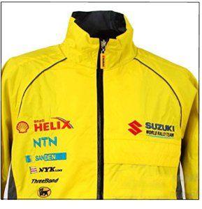 WRC Défi Suzuki World Rally Team Sport Motorsport Veste pour homme Jaune XL Jaune – jaune