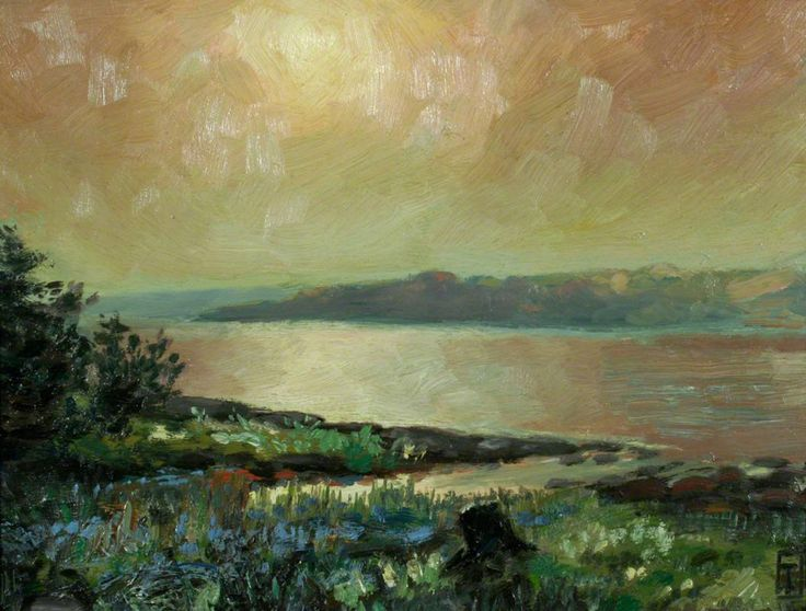 Evening, Lake Scugog (1911) by Tom Thomson – Cottage Life