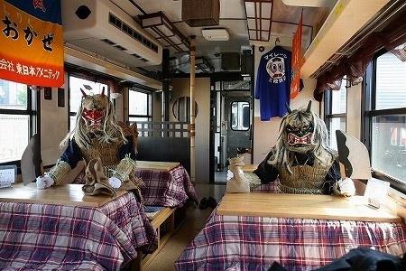 三陸鉄道、こたつ&ミカンが楽しめる「こたつ列車」が2年ぶりに復活! | 旅行 | マイナビニュース