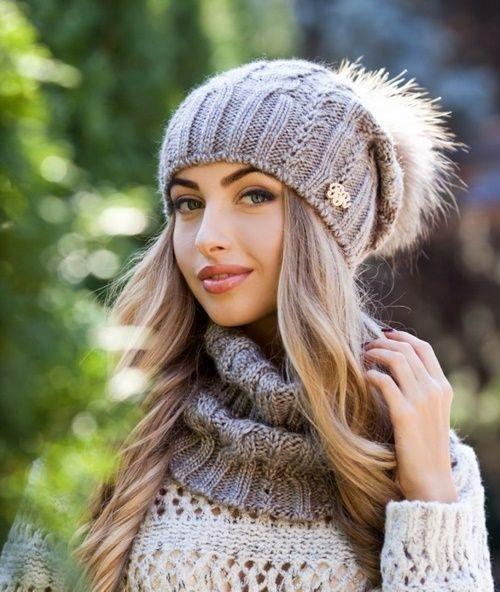 картинки по запросу модные шапки 2019 вязаные шапки головные