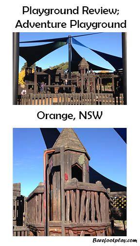 Playground Review Orange NSW Barefoot Play