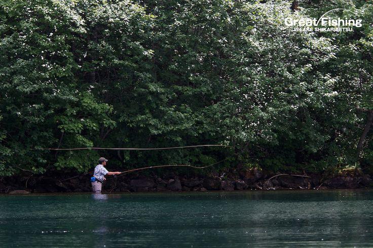 然別湖[7月]flyfishing