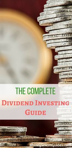 The Complete Guide To Dividend Investing. If you are looking for tips and ideas for how to get started dividend investing, this is the post you need to read. Great for beginners to get a better understanding of dividend investing. via @moneysma