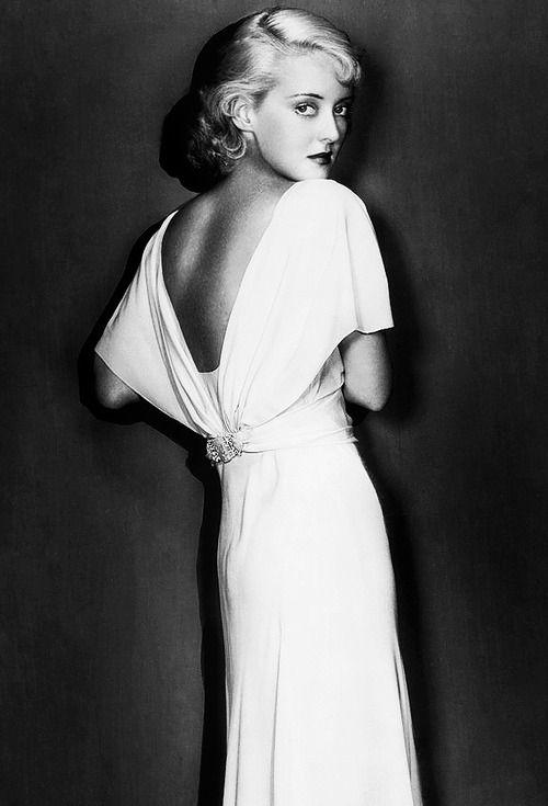 Bette Davis ... man was she gorgeous!