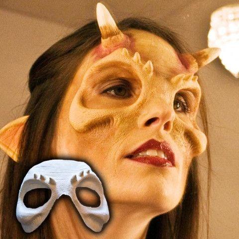 xan demon halloween sfx appliance