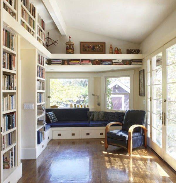 Libreria con mensola