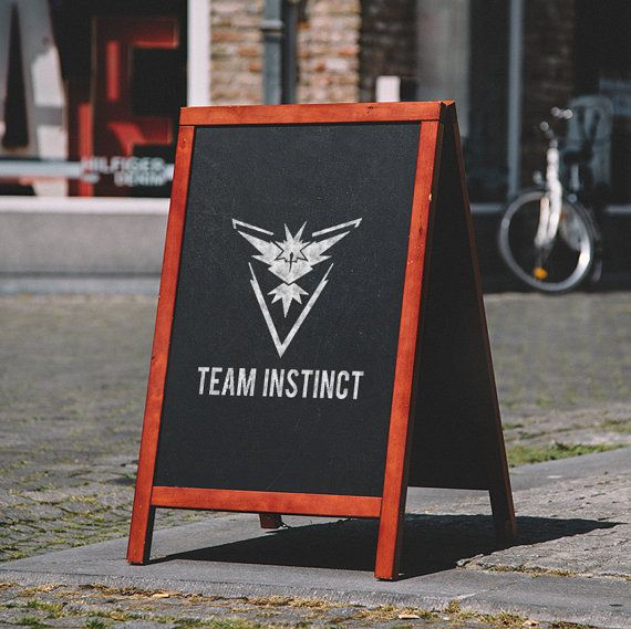 Team Instinct | Pokemon Go | Custom Stencil | Custom Stencils | Multiple Sizes | Reusable Stencils | Ready to use | Get Ready to Paint! |
