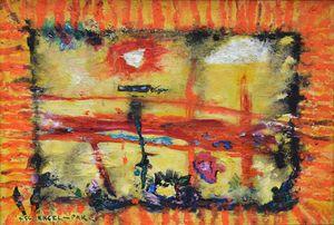 Peintures - ENGEL PAK, PIONNIER DE L'ABSTRACTION @ GALERIE INTUITI - Paris, 75003