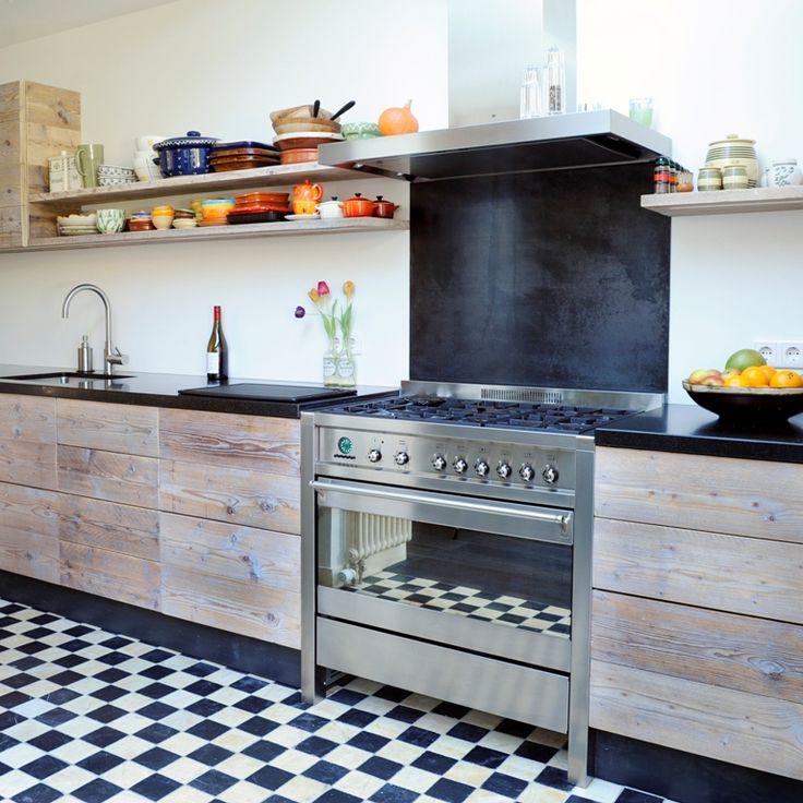 Klassieke houten keuken RestyleXL - Product in beeld - - De beste keuken ideeën | UW-keuken.nl