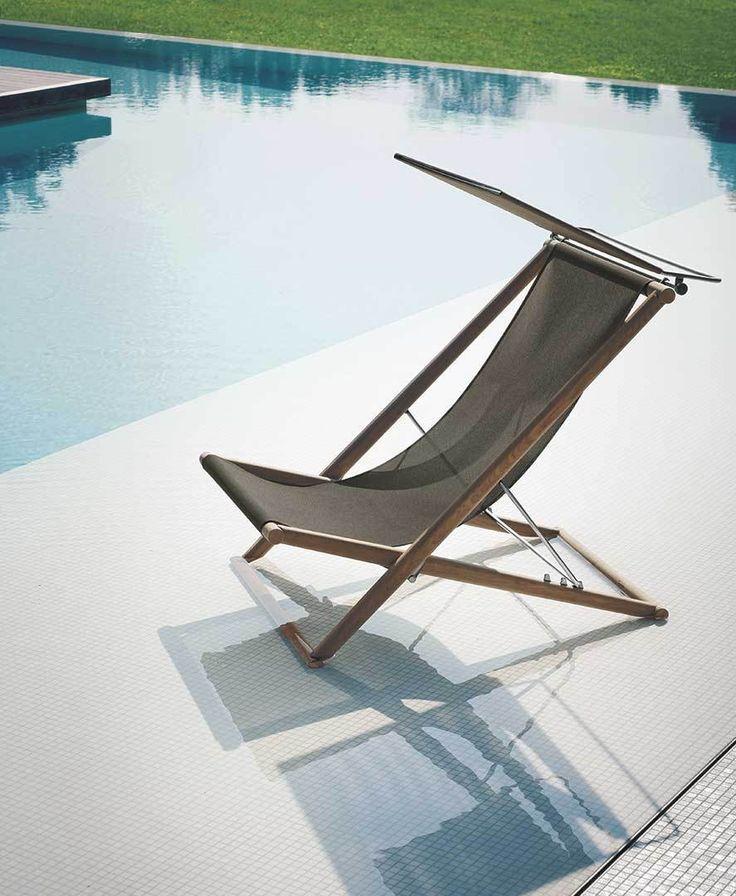 Roda   Sunloungers   Deck Chair   Gray   Outdoor