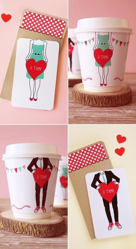 un set original pour la Saint Valentin...