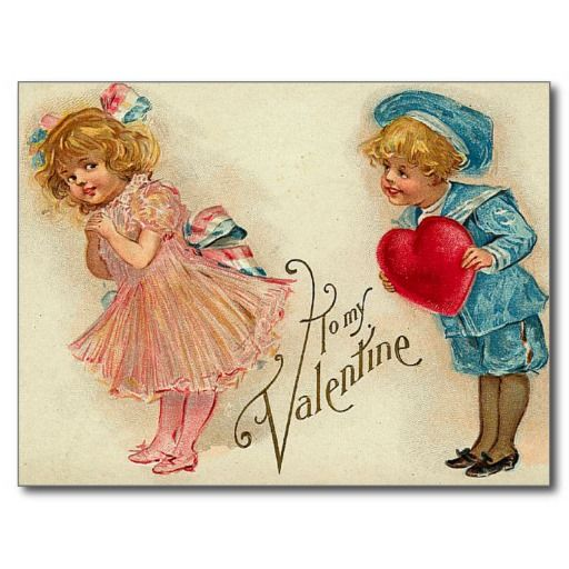 67 Best Images About Vintage Valentines On Pinterest
