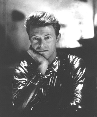 Bowie in the film The Linguini Incident, Directed by Richard Shepherd, filmed 1990, released 1992