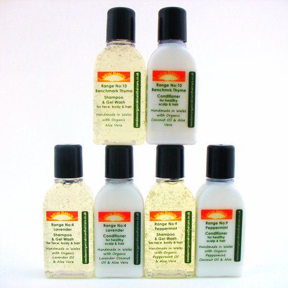 Alopecia / Hair Loss Shampoo and Conditioner by NewDawnOrganicSkin