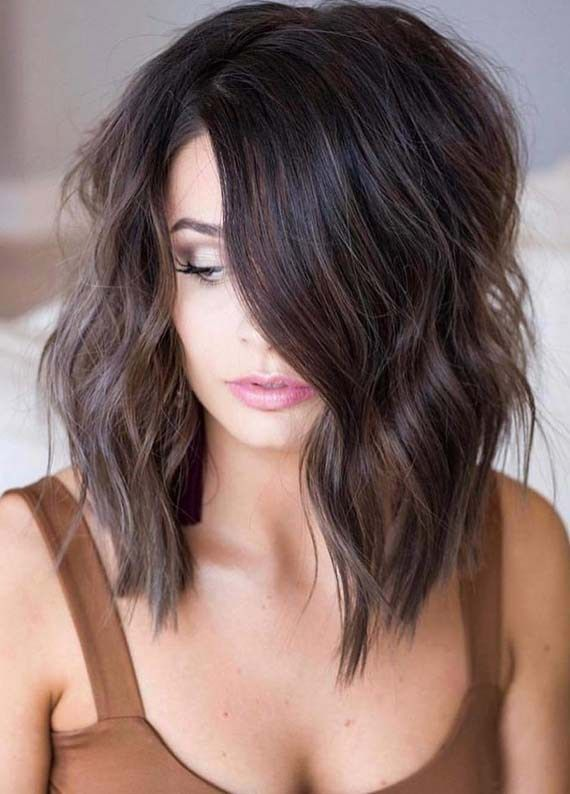 Explore here the various styles of long bob haircuts worn by the top celebs and …