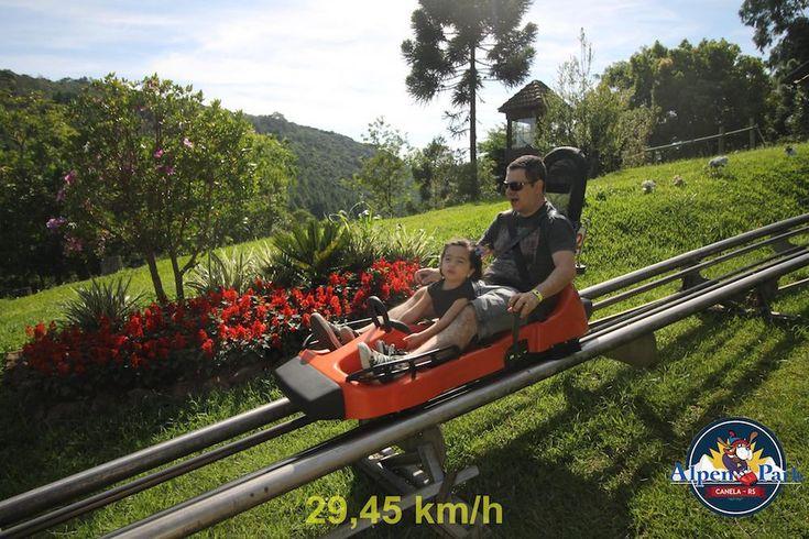 Gramado e Canela - Onde ir com crianças?  Alpen Park  #viagemcomcrianças #gramadoecanela #serragaucha