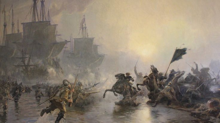 The Battle of Nyborg (November 14, 1659) was a battle fought between Sweden and the combined forces of Denmark, Dutch naval forces under Michiel de Ruyter, troops of Brandenburg-Prussia, and Polish–Lithuanian Commonwealth forces under Stefan Czarniecki. Result: Allied victory
