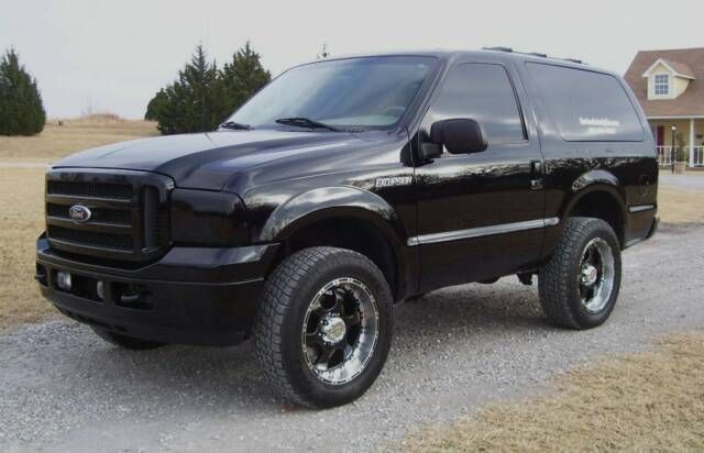 Custom Ford Excursion turned Bronco