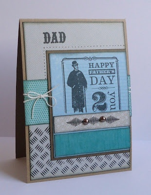 Because it's fun to create...: Happy Father's day, dad